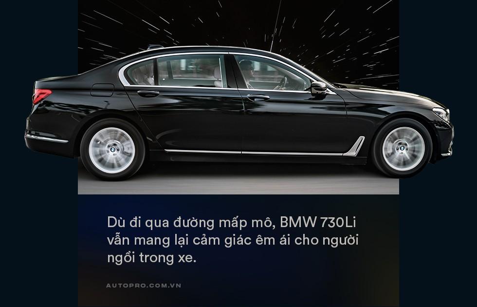 Thử làm ông chủ trên BMW 730Li: Thư giãn thật sự giữa bộn bề cuộc sống - Ảnh 4.