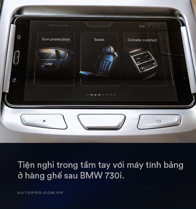 Thử làm ông chủ trên BMW 730Li: Thư giãn thật sự giữa bộn bề cuộc sống - Ảnh 7.