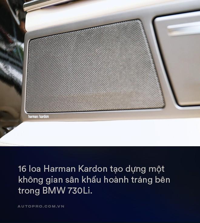 Thử làm ông chủ trên BMW 730Li: Thư giãn thật sự giữa bộn bề cuộc sống - Ảnh 9.
