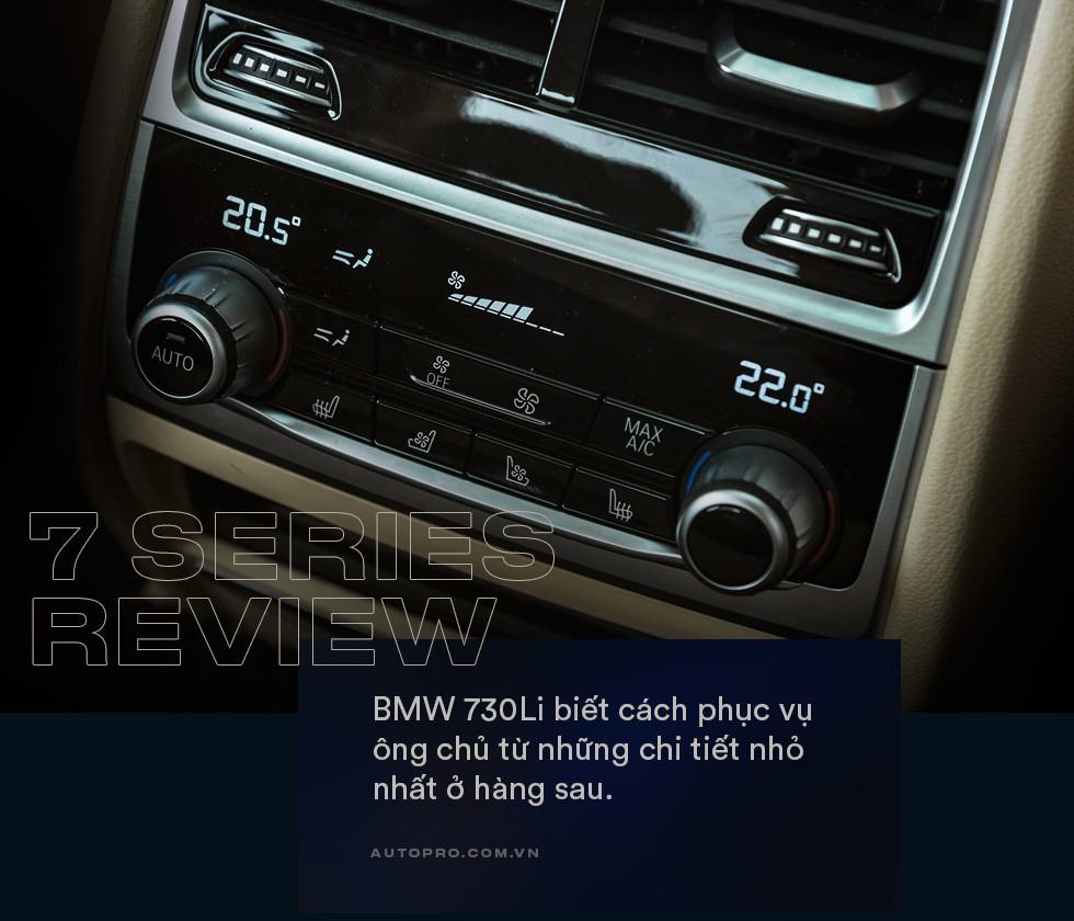 Thử làm ông chủ trên BMW 730Li: Thư giãn thật sự giữa bộn bề cuộc sống - Ảnh 10.