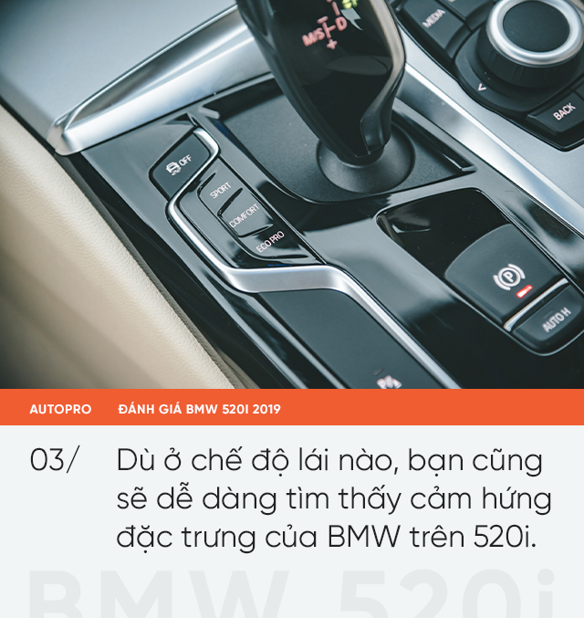 Đánh giá BMW 520i 2019: Mang lại giá trị và niềm tin - Ảnh 4.