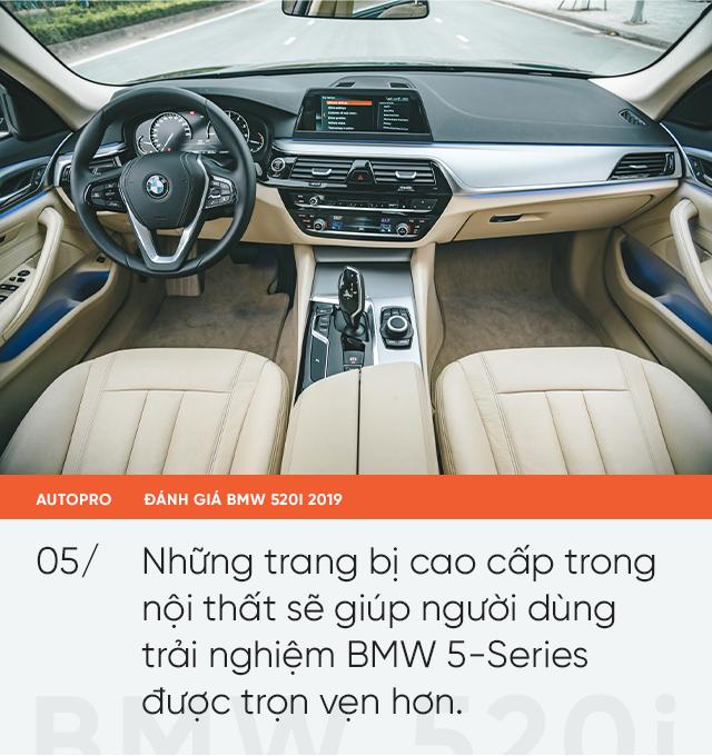 Đánh giá BMW 520i 2019: Mang lại giá trị và niềm tin - Ảnh 6.