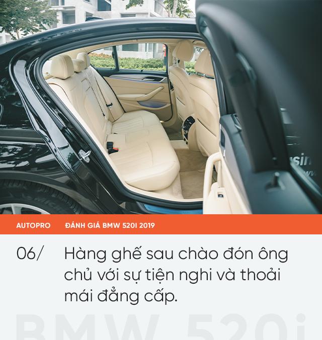 Đánh giá BMW 520i 2019: Mang lại giá trị và niềm tin - Ảnh 7.