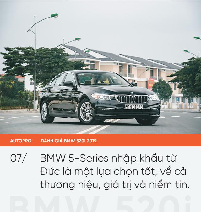 Đánh giá BMW 520i 2019: Mang lại giá trị và niềm tin - Ảnh 8.