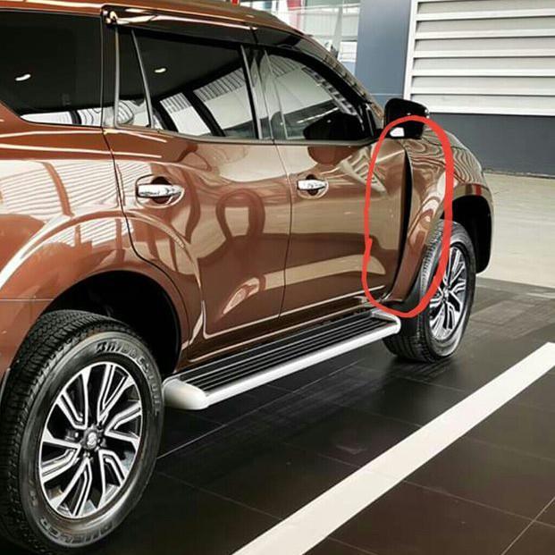 Nissan Terra lột xác thành Mercedes-Benz 'sang chảnh' với chi phí 260 triệu đồng nhưng một chi tiết xuất hiện gây tranh cãi - Ảnh 4.