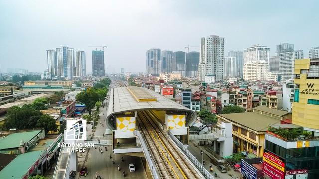Sau 11 năm xây dựng, hình hài toàn tuyến metro đầu tiên của Việt Nam tại Hà Nội hiện nay như thế nào? - Ảnh 12.
