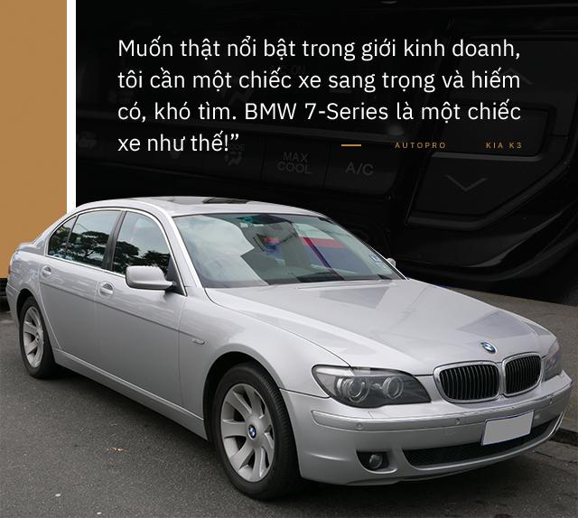 Nữ doanh nhân tuổi tứ tuần: 'Sau BMW 7-Series, chỉ có Kia K3 mới làm tôi hài lòng' - Ảnh 2.