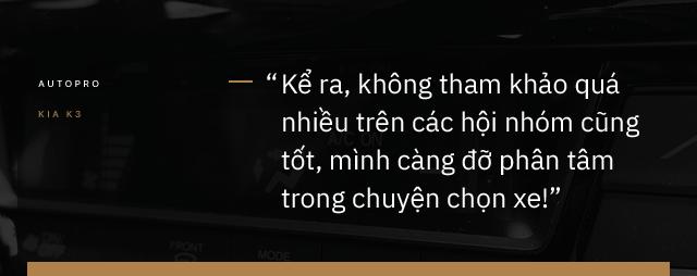 Nữ doanh nhân tuổi tứ tuần: 'Sau BMW 7-Series, chỉ có Kia K3 mới làm tôi hài lòng' - Ảnh 14.