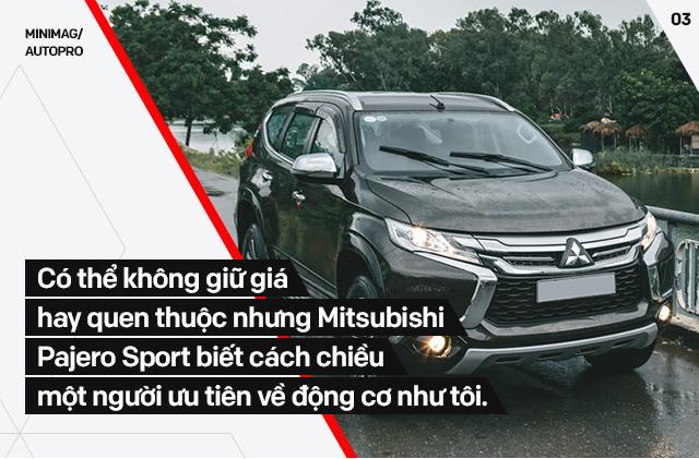 Người dùng đánh giá Mitsubishi Pajero Sport máy dầu: Chỉ cần mạnh, mượt và rẻ là đủ - Ảnh 7.