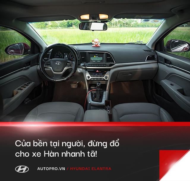 Người dùng đánh giá Hyundai Elantra sau gần 3 năm: 'Nếu nói Vios lành thì Elantra cũng vậy thôi' - Ảnh 10.