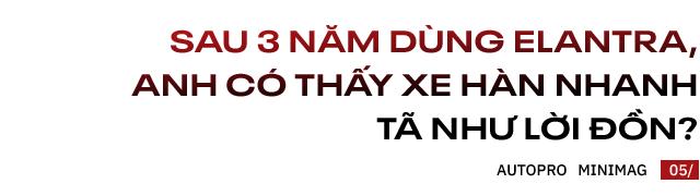 Người dùng đánh giá Hyundai Elantra sau gần 3 năm: 'Nếu nói Vios lành thì Elantra cũng vậy thôi' - Ảnh 9.