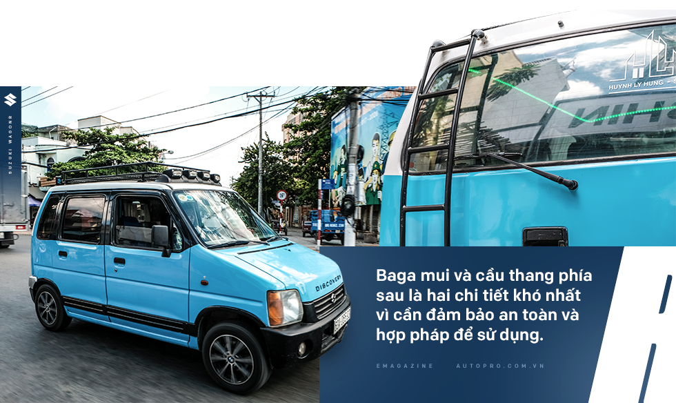 Gặp người mua Suzuki Wagon R giá 90 triệu đồng độ thành nhà di động: 'Việt Nam đẹp lắm, đi tới đâu mà ở khách sạn thì phí' - Ảnh 10.