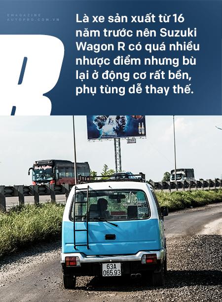 Gặp người mua Suzuki Wagon R giá 90 triệu đồng độ thành nhà di động: 'Việt Nam đẹp lắm, đi tới đâu mà ở khách sạn thì phí' - Ảnh 23.