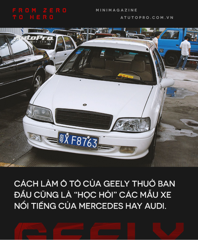 Sự trỗi dậy của hãng xe Trung Quốc Geely - Bài học cho VinFast - Ảnh 3.