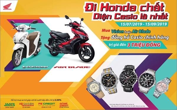 Honda Vision và Air Blade đồng loạt tung khuyến mại hút khách Việt - Ảnh 1.