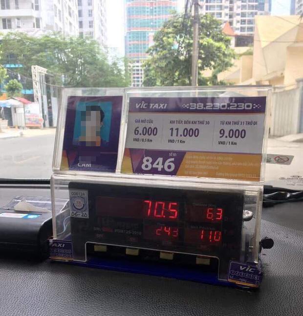 Hà Nội: Đi taxi 6,3km, du khách Nhật nghi bị tài xế hãng VIC chặt chém đến 700 ngàn - Ảnh 1.