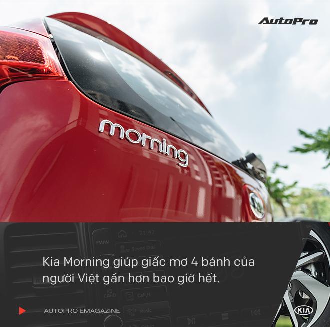 Vì sao người Việt thường chọn Kia Morning khi mua xe lần đầu? - Ảnh 6.