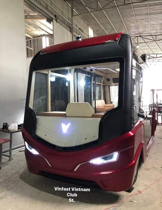 Lộ diện mẫu xe buýt được cho là của VinFast - Ảnh 2.