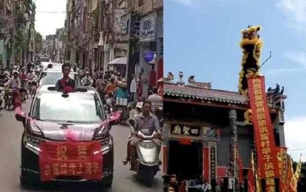 Cả 100 năm mới có một người đỗ đại học, dân làng đón rước sĩ tử bằng ô tô, ăn mừng linh đình như lễ hội - Ảnh 1.