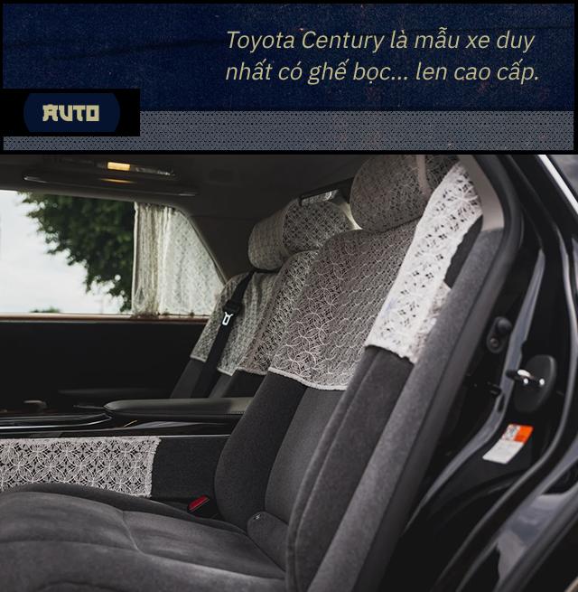 Đánh giá Toyota Century khi hết ga, hết số với 1 bình xăng: Đây không phải 'Rolls-Royce của người Nhật' - Ảnh 6.