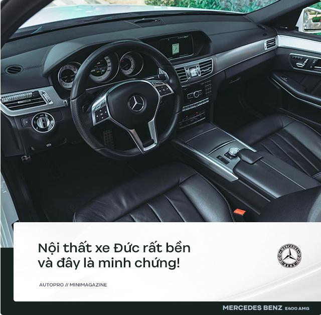 Người dùng đánh giá Mercedes-Benz E 400 AMG 4 năm tuổi: Sướng cái thân và phải sướng cả người đi cùng - Ảnh 5.