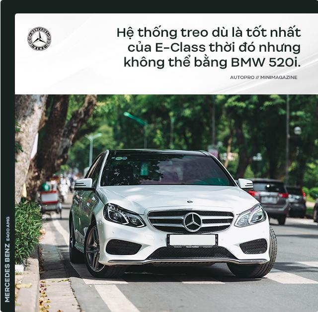 Người dùng đánh giá Mercedes-Benz E 400 AMG 4 năm tuổi: Sướng cái thân và phải sướng cả người đi cùng - Ảnh 8.