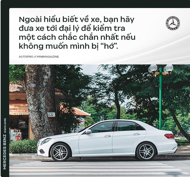 Người dùng đánh giá Mercedes-Benz E 400 AMG 4 năm tuổi: Sướng cái thân và phải sướng cả người đi cùng - Ảnh 11.