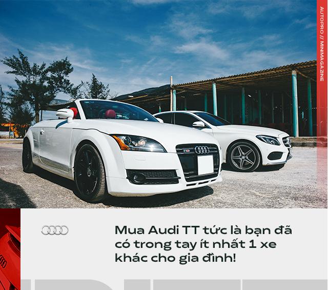 Người dùng đánh giá Audi TT 10 năm tuổi: Dù phải sống chung với lũ, tôi vẫn cảm thấy mình được nhiều hơn mất - Ảnh 2.