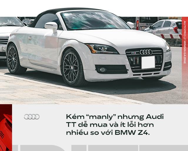 Người dùng đánh giá Audi TT 10 năm tuổi: Dù phải sống chung với lũ, tôi vẫn cảm thấy mình được nhiều hơn mất - Ảnh 4.