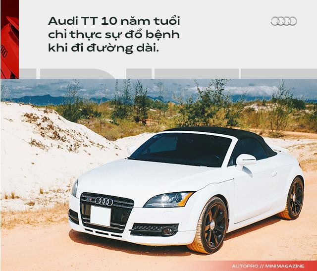 Người dùng đánh giá Audi TT 10 năm tuổi: Dù phải sống chung với lũ, tôi vẫn cảm thấy mình được nhiều hơn mất - Ảnh 8.