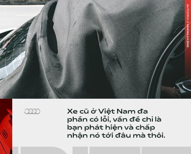 Người dùng đánh giá Audi TT 10 năm tuổi: Dù phải sống chung với lũ, tôi vẫn cảm thấy mình được nhiều hơn mất - Ảnh 10.