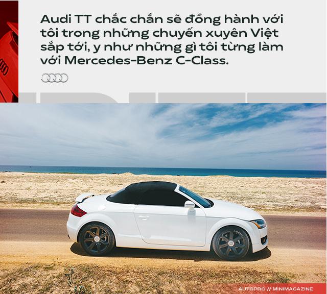 Người dùng đánh giá Audi TT 10 năm tuổi: Dù phải sống chung với lũ, tôi vẫn cảm thấy mình được nhiều hơn mất - Ảnh 14.