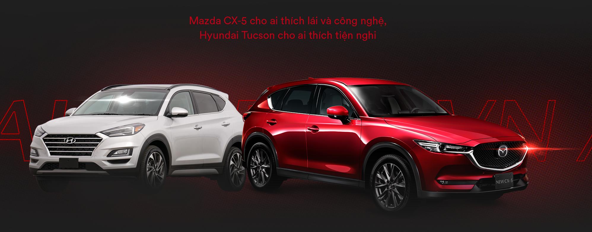 Mazda CX-5 vs Hyundai Tucson: Khi người Việt lựa chọn SUV Nhật - Hàn dưới 900 triệu đồng - Ảnh 10.