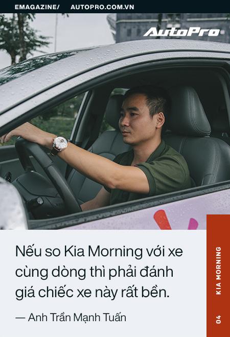 Người dùng đánh giá Kia Morning: Bền và tiết kiệm để làm dịch vụ, đẹp và đủ tiện nghi cho gia đình - Ảnh 14.