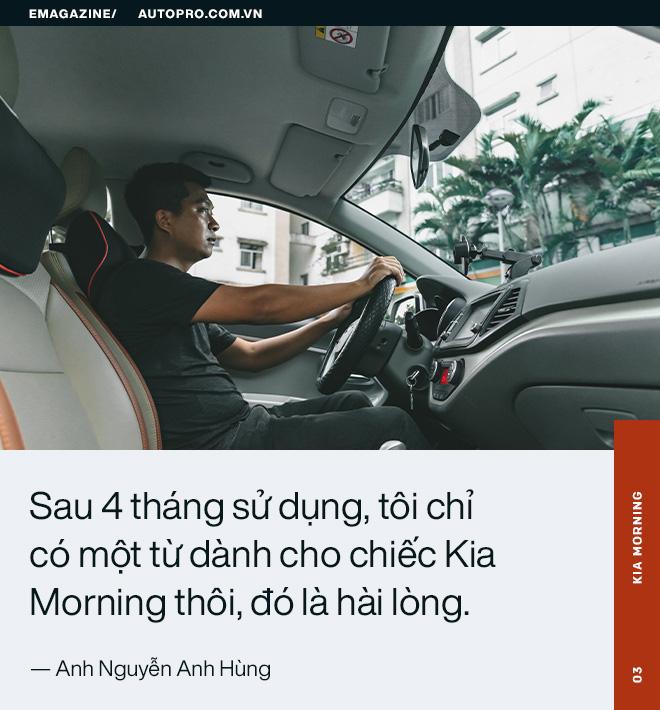 Người dùng đánh giá Kia Morning: Bền và tiết kiệm để làm dịch vụ, đẹp và đủ tiện nghi cho gia đình - Ảnh 9.
