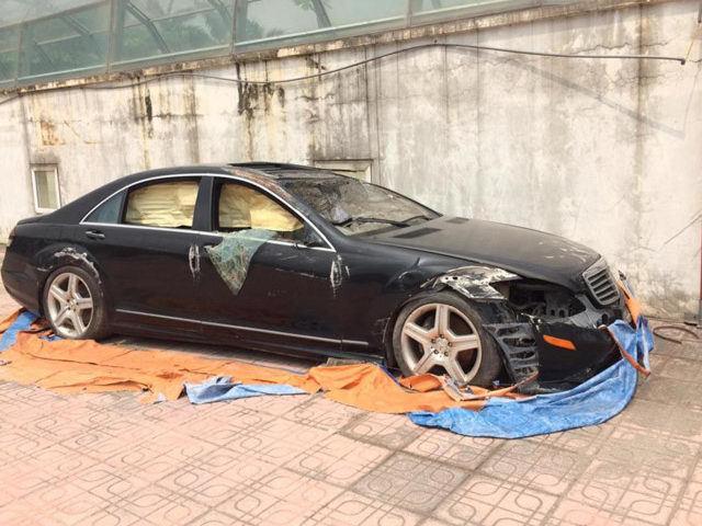 Xót xa Mercedes-Maybach S600 14 tỷ phủ bụi ở Hà Nội - Ảnh 8.