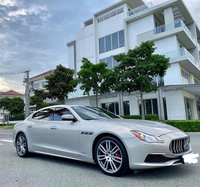 Mới đăng kí được 2 năm, Maserati Quattroporte xuống giá rẻ bằng nửa giá trị xe mới - Ảnh 4.
