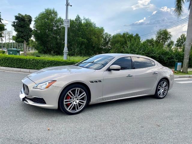 Mới đăng kí được 2 năm, Maserati Quattroporte xuống giá rẻ bằng nửa giá trị xe mới - Ảnh 1.