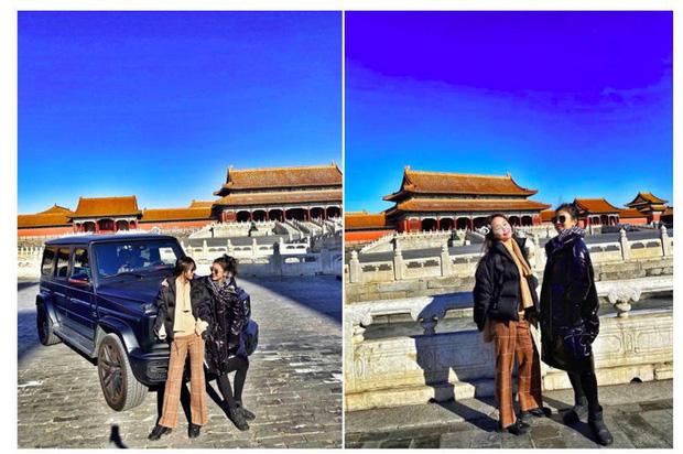 Hot girl khoe xe ở Tử Cấm Thành, con nhà giàu Trung Quốc lại