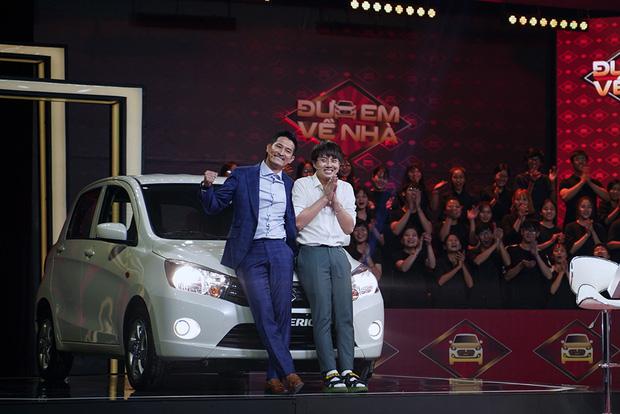 Duy Khánh - Huy Khánh trúng xe Suzuki gần nửa tỷ đồng trên gameshow - Ảnh 4.