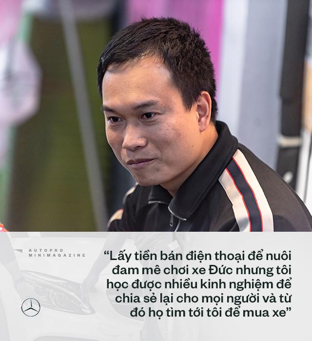 Trung 'Japan': Từ bán điện thoại Nhật, mất nhiều 'học phí' chơi xe cũ đến 'ông trùm' Mercedes đã qua sử dụng tại Việt Nam - Ảnh 6.