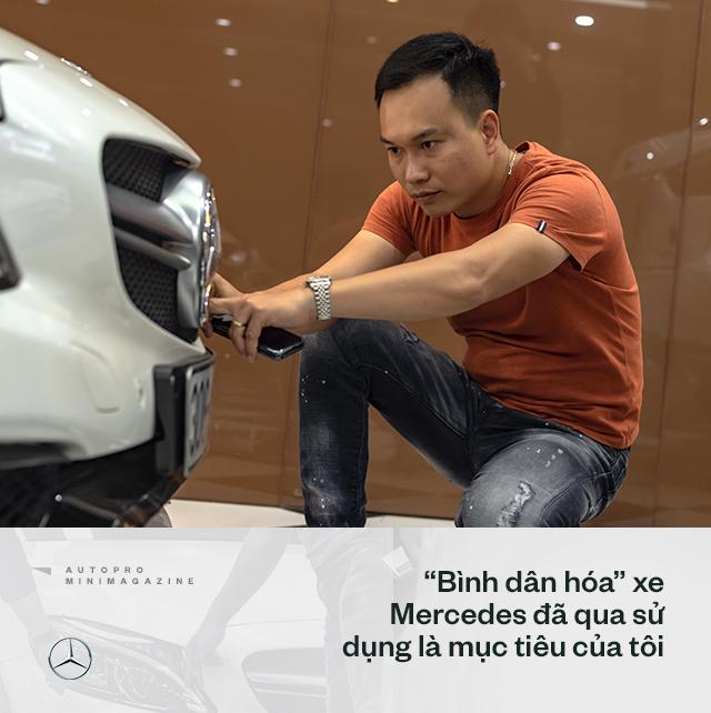 Trung 'Japan': Từ bán điện thoại Nhật, mất nhiều 'học phí' chơi xe cũ đến 'ông trùm' Mercedes đã qua sử dụng tại Việt Nam - Ảnh 7.