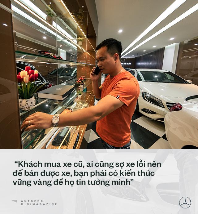 Trung 'Japan': Từ bán điện thoại Nhật, mất nhiều 'học phí' chơi xe cũ đến 'ông trùm' Mercedes đã qua sử dụng tại Việt Nam - Ảnh 9.