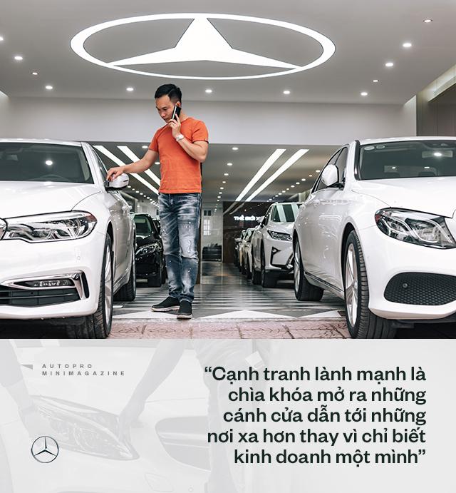 Trung 'Japan': Từ bán điện thoại Nhật, mất nhiều 'học phí' chơi xe cũ đến 'ông trùm' Mercedes đã qua sử dụng tại Việt Nam - Ảnh 13.