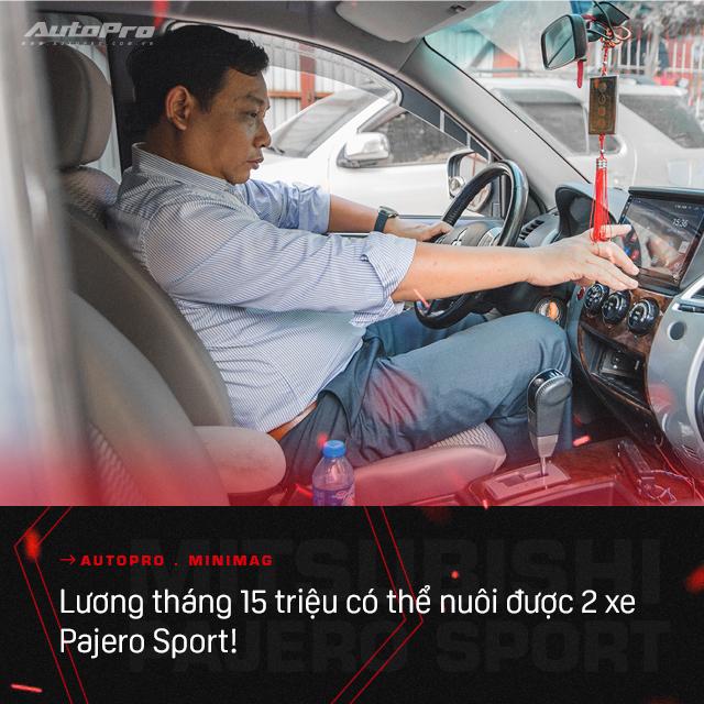 Lương 15 triệu/tháng nuôi được hai chiếc Mitsubishi Pajero Sport, người dùng chia sẻ: 'Rẻ quá nên 10 năm không muốn đổi xe' - Ảnh 8.