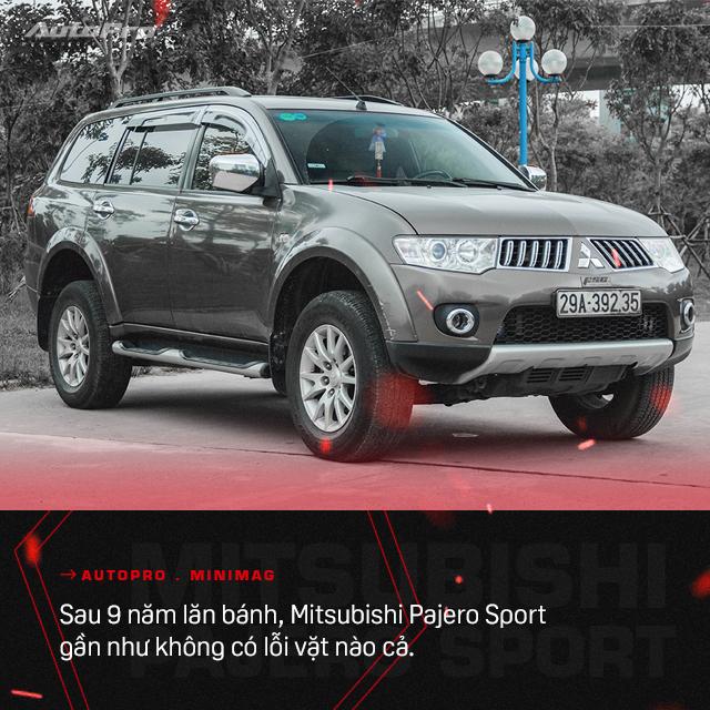 Lương 15 triệu/tháng nuôi được hai chiếc Mitsubishi Pajero Sport, người dùng chia sẻ: 'Rẻ quá nên 10 năm không muốn đổi xe' - Ảnh 6.