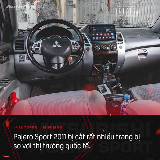 Lương 15 triệu/tháng nuôi được hai chiếc Mitsubishi Pajero Sport, người dùng chia sẻ: 'Rẻ quá nên 10 năm không muốn đổi xe' - Ảnh 12.