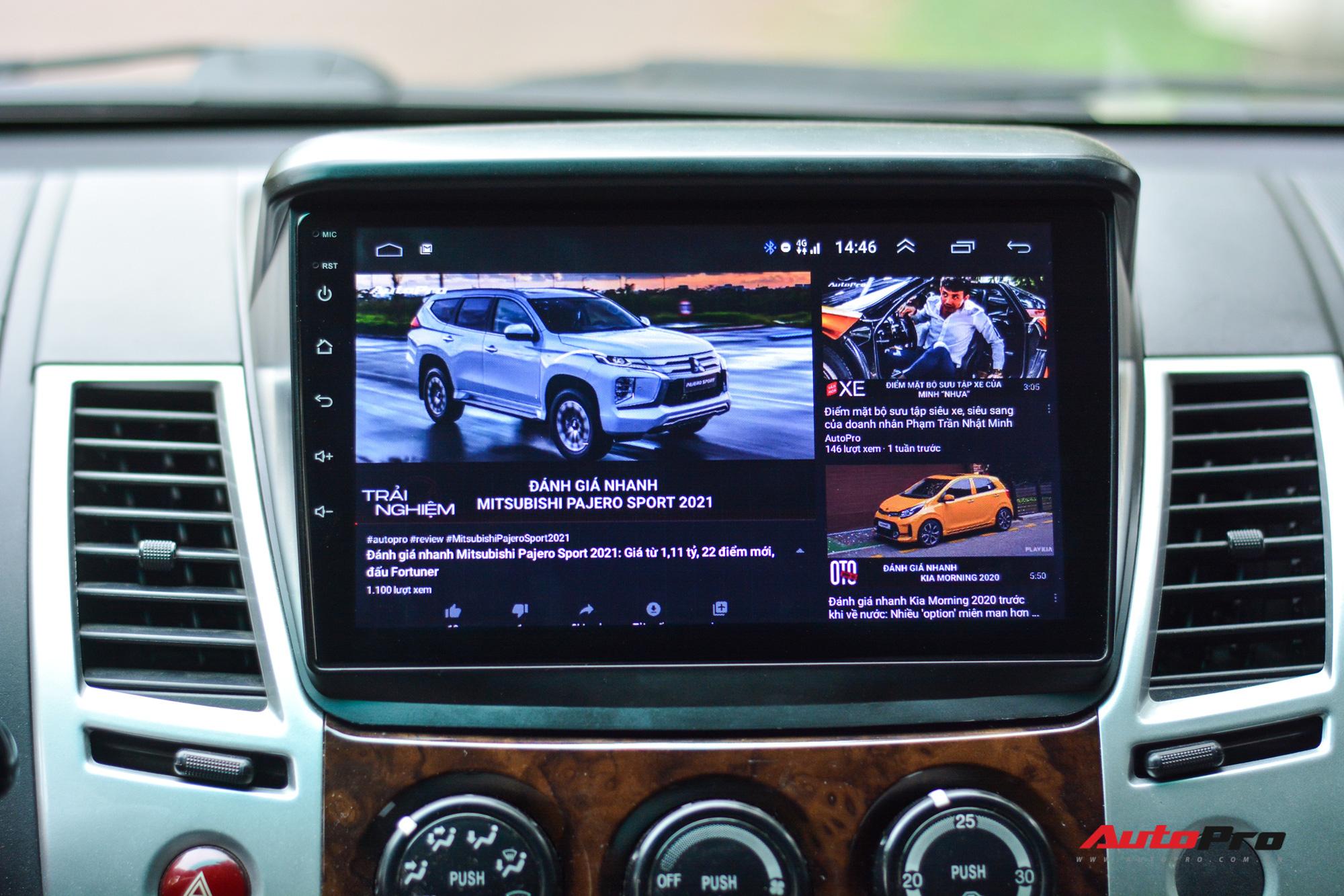 Màn hình giải trí chạy Android có thể mang tới những tính năng tiện nghi như lướt web, xem video trực tuyến, bản đồ,...