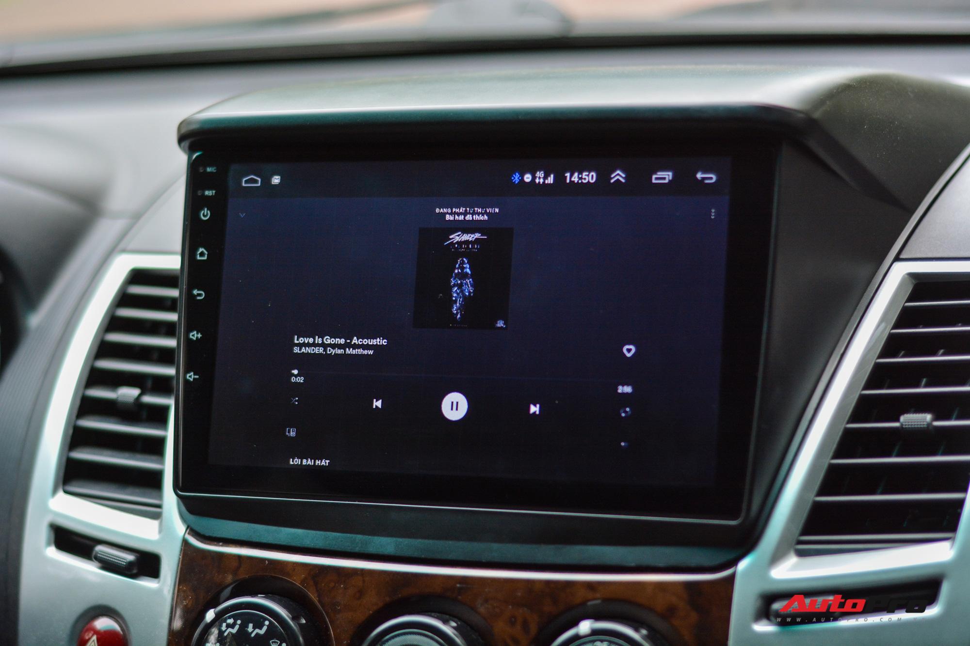 Chất lượng âm thanh có thể bị ảnh hưởng do việc nâng cấp màn hình dạng Android.