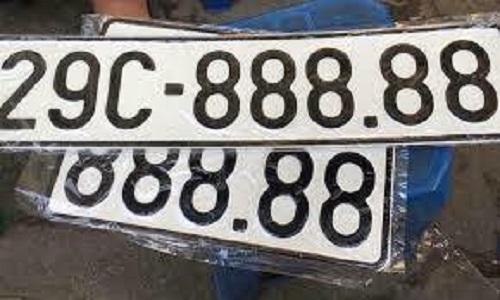 Đề xuất đấu giá biển số xe không mất phí, biển số đã đấu giá là tài sản cá nhân - Ảnh 1.